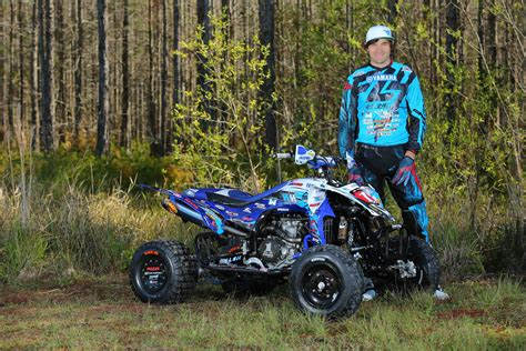atv motocross racing dirt wheels magazine yamaha announces 2015 atv race team