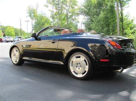 lexus convertible 4 door buy used 2002 lexus sc430 base convertible 2 door 4 3l in