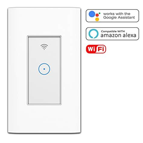 compatible light switch smart light switch wi fi switch in wall wireless switch