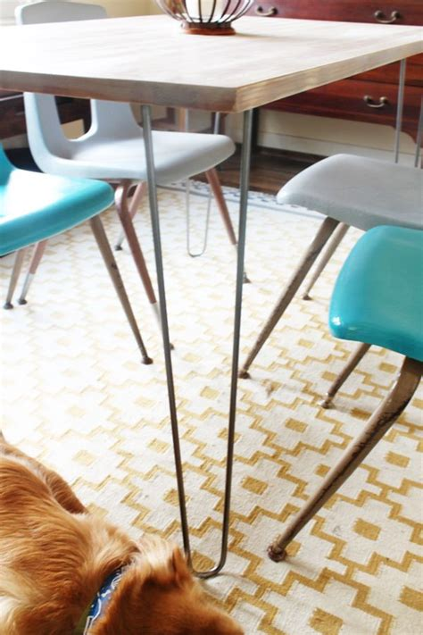 ikea legs hack ikea hack table hairpin legs home decorating trends