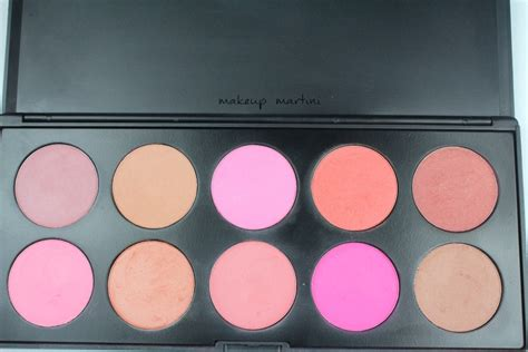 Coastal Scents Blush On Blush Palette coastal scents 10 blush palette review price swatches