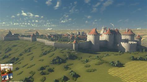 3d le 3d visit of the castle of coucy in 1242
