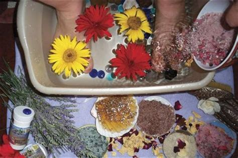 Herbal Detox Pedicure by Herbal Warrior Relief Pedicure Technique Nails Magazine