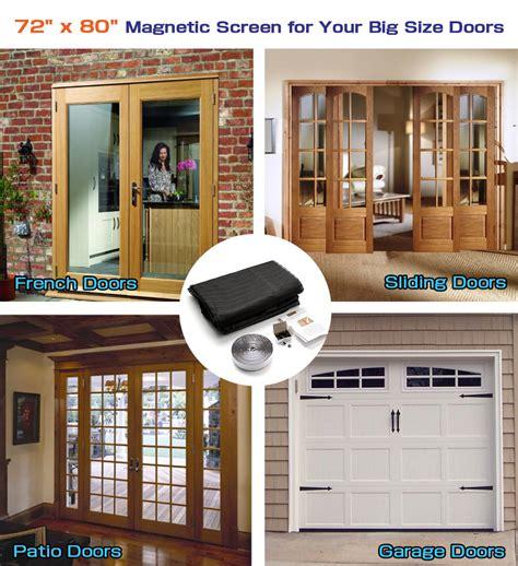 Magnetic Screen For Sliding Glass Door Save 27 72 Quot W X 80 Quot H Free Magnetic Screen Door For Doors Sliding Glass Doors