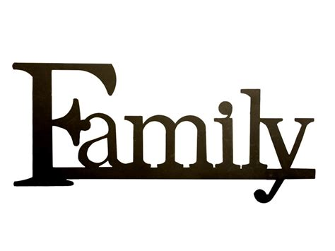 words clipart all word family clipart