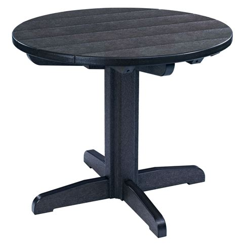 black pedestal dining table generations black 32 quot pedestal dining table from cr