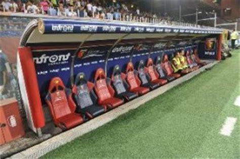 panchina da calcio ufficiale saltano altre due panchine notizie calcio