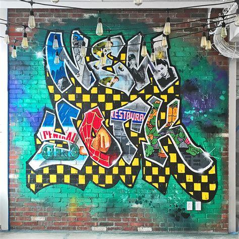 york graffiti artist  hire ny street art mural