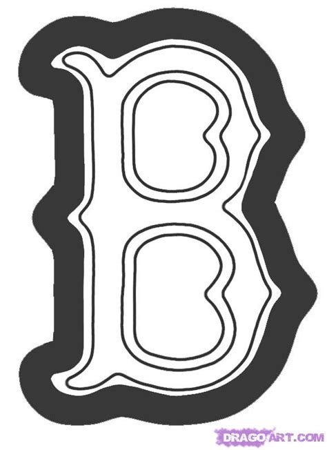 how to draw the boston red sox logo step by step sports