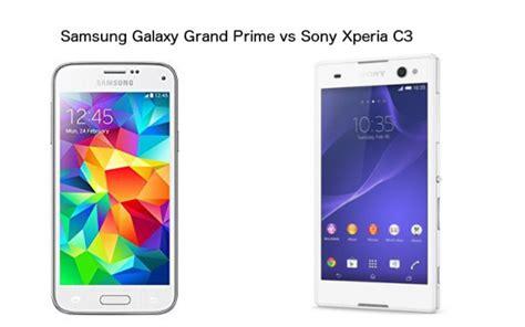 Hp Samsung Android Grand Prime samsung galaxy grand prime vs xperia c3 ponsel selfie
