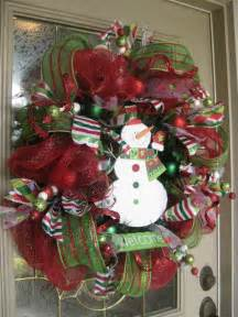 how to make a wreath kristen s creations christmas mesh wreath tutorial