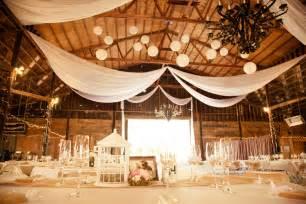 Barn Decorations by Northern California Barn Wedding Rustic Wedding Chic
