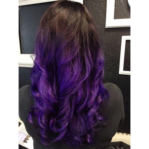 pravana violet hair color purple ombr 233 using pravana vivids violet personal