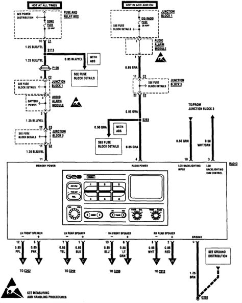 1993 Toyotum Paseo Stereo Wiring Diagram - Wiring Diagram