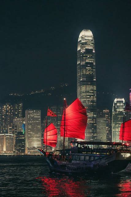 hong kong boats called this boat is called one aqua an excellent way to see the