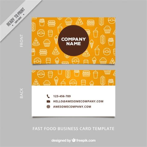 Sketch Business Card Template