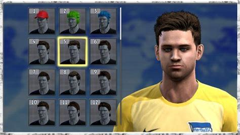 pes 2013 hairstyle pes modif pes 2013 change edit hairstyles mod by radymir
