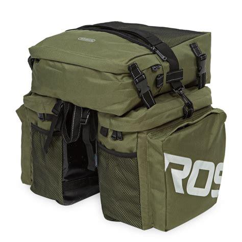 Roswheel Bicycle Rear Bag roswheel 37l waterproof 3 in 1 cycling bike bicycle rear