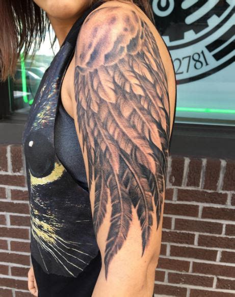 50 incredible wing tattoos ideas and designs 2018