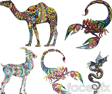 pattern animal tattoo animal tattoos tattoo 3 vector over millions vectors