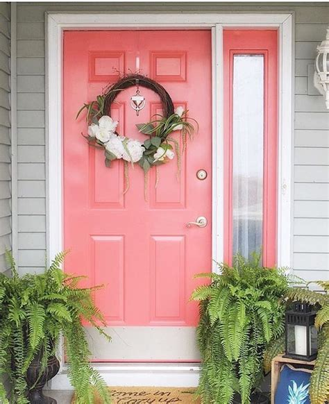 Coral Front Door by 17 Best Ideas About Coral Front Doors On Coral