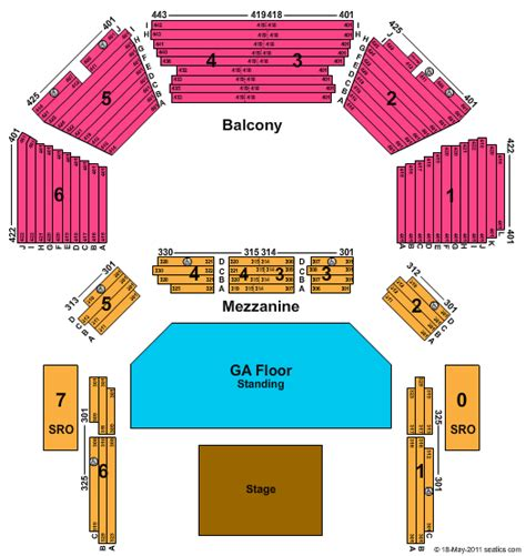 moody theater seating chart