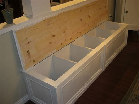 kitchen bench seating ikea the house of normandy turning a bookcase into a banquette