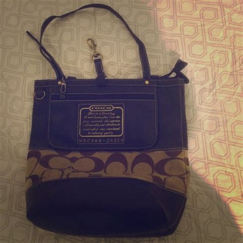 This Is A Coach Bag It Was Handcrafted In China - 73 coach handbags n o co6k 10124 handcrafted coach