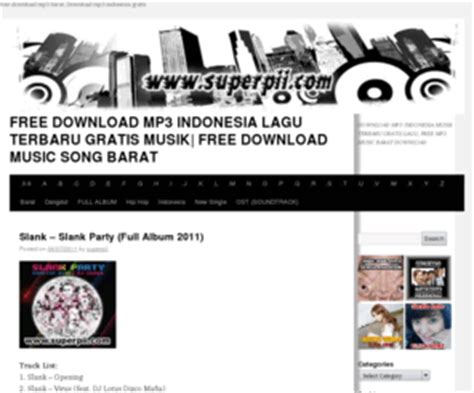 free download mp3 band barat terbaru superpii com free download mp3 indonesia lagu terbaru