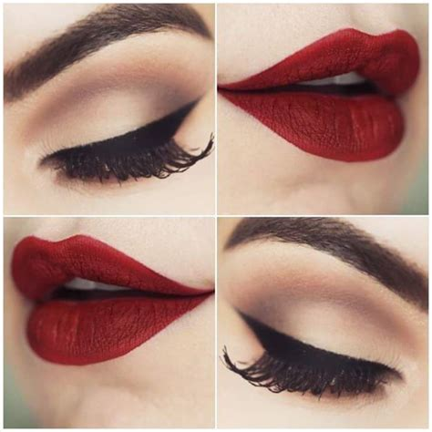 tutorial eyeliner unik 55 mesmerizing christmas makeup ideas to leave the