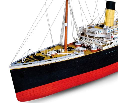 Papercraft Titanic - papercraft titanic pictures to pin on pinsdaddy