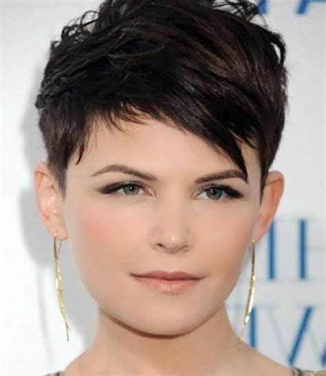 short cuts that slims a roundface for women over 50 2018 popular short haircuts for fat face