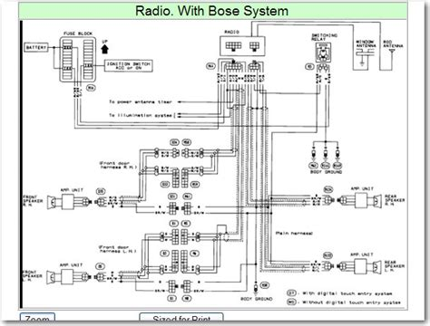 350z bose stereo wiring diagram 31 wiring diagram images