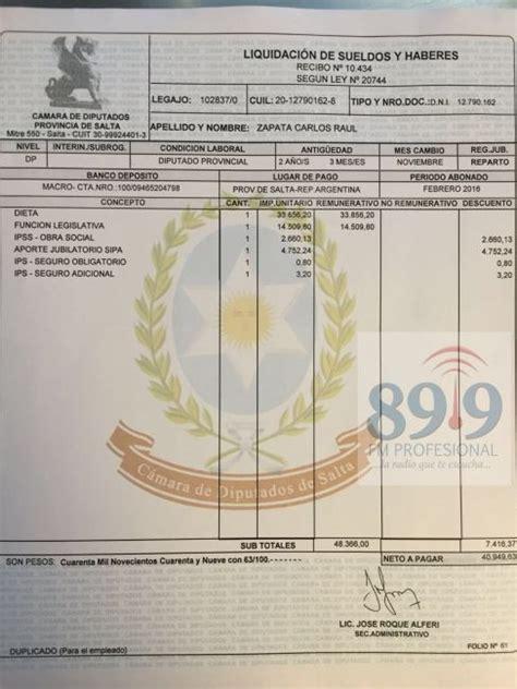 cuanto cobra un electricista por boca en argentina 191 cu 225 nto cobra un diputado provincial adelantado