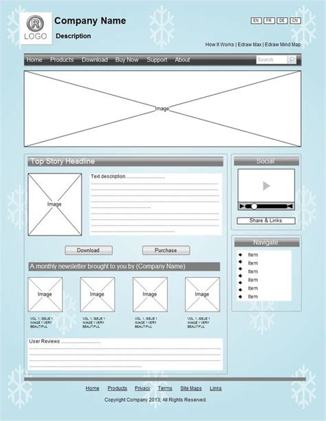 website structure tool a website wireframe is also called a page schematic or