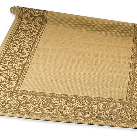 bed bath beyond outdoor rugs corsica scroll indoor outdoor rugs bed bath beyond