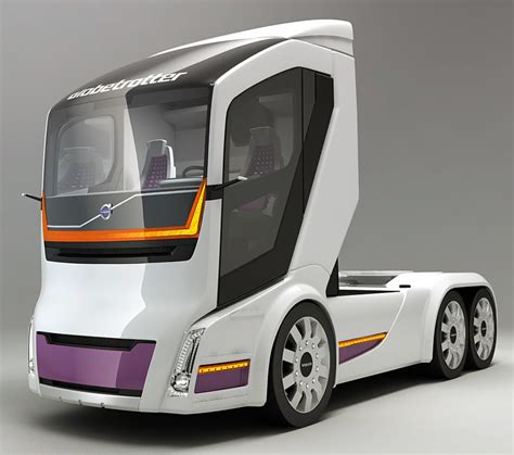 Volvo Trucks Vision 2020 by Volvo 3d Models