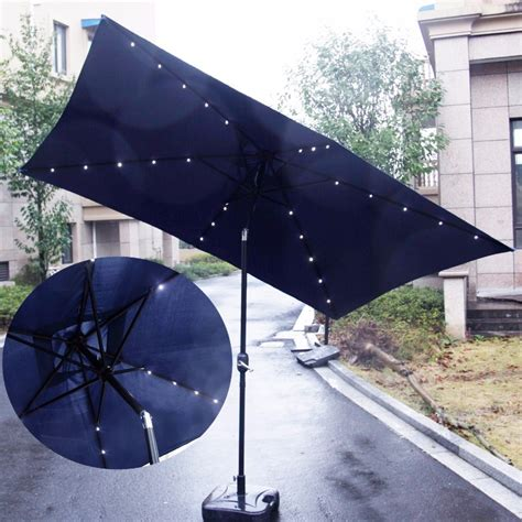 5 Best Patio Umbrella With Solar Lights Cheap Led Solar Powered Patio Umbrella Lights