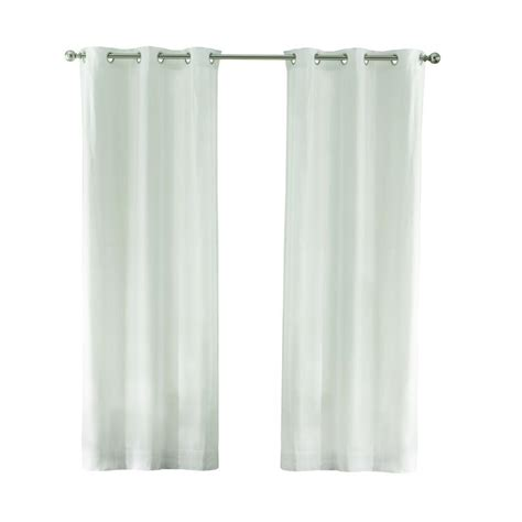 curtains white cotton home decorators collection white cotton duck grommet
