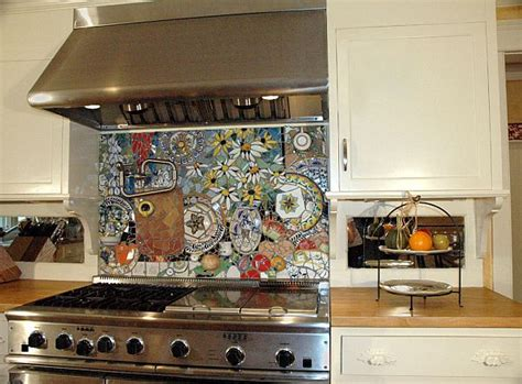 mosaic kitchen backsplash tile 16 wonderful mosaic kitchen backsplashes