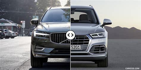 volvo versus audi 2018 volvo xc60 vs 2018 audi q5