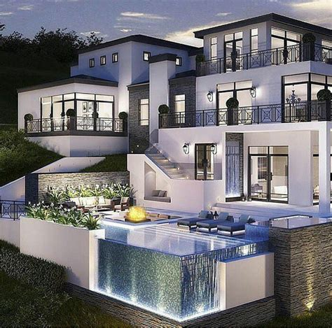 luxury modern homes amazing los angeles hollywood hills mansion with infinity