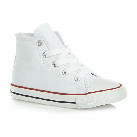converse toddler shoes converse all hi toddler shoes optical white free