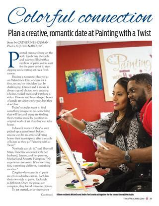 paint with a twist temple tex appeal magazine february 2017 by temple daily