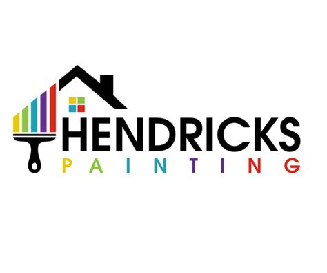 hendricks painting logo design creative graphics