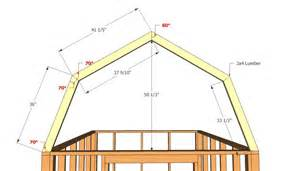 Building Plans For Barns Barn Shed Plans Howtospecialist How To Build Step By