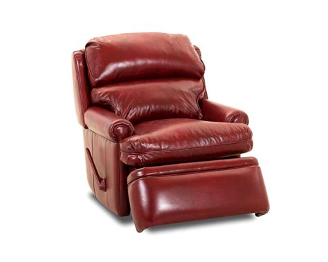 red recliner red leather recliiner american made classic club recliner