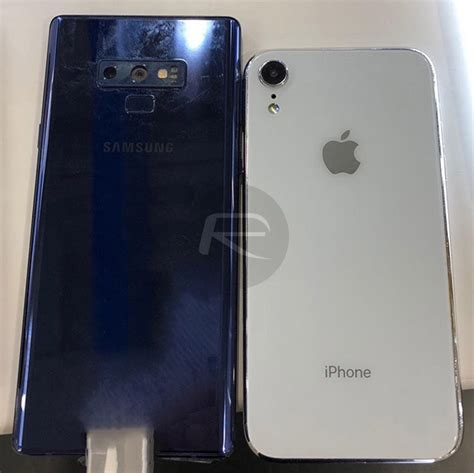 iphone xs max  xr  galaxy note  size comparison