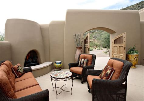 southwest outdoor furniture southwestern patio furniture chicpeastudio