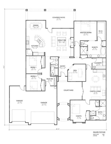 house plans utah 4 bedroom home designs southern utah